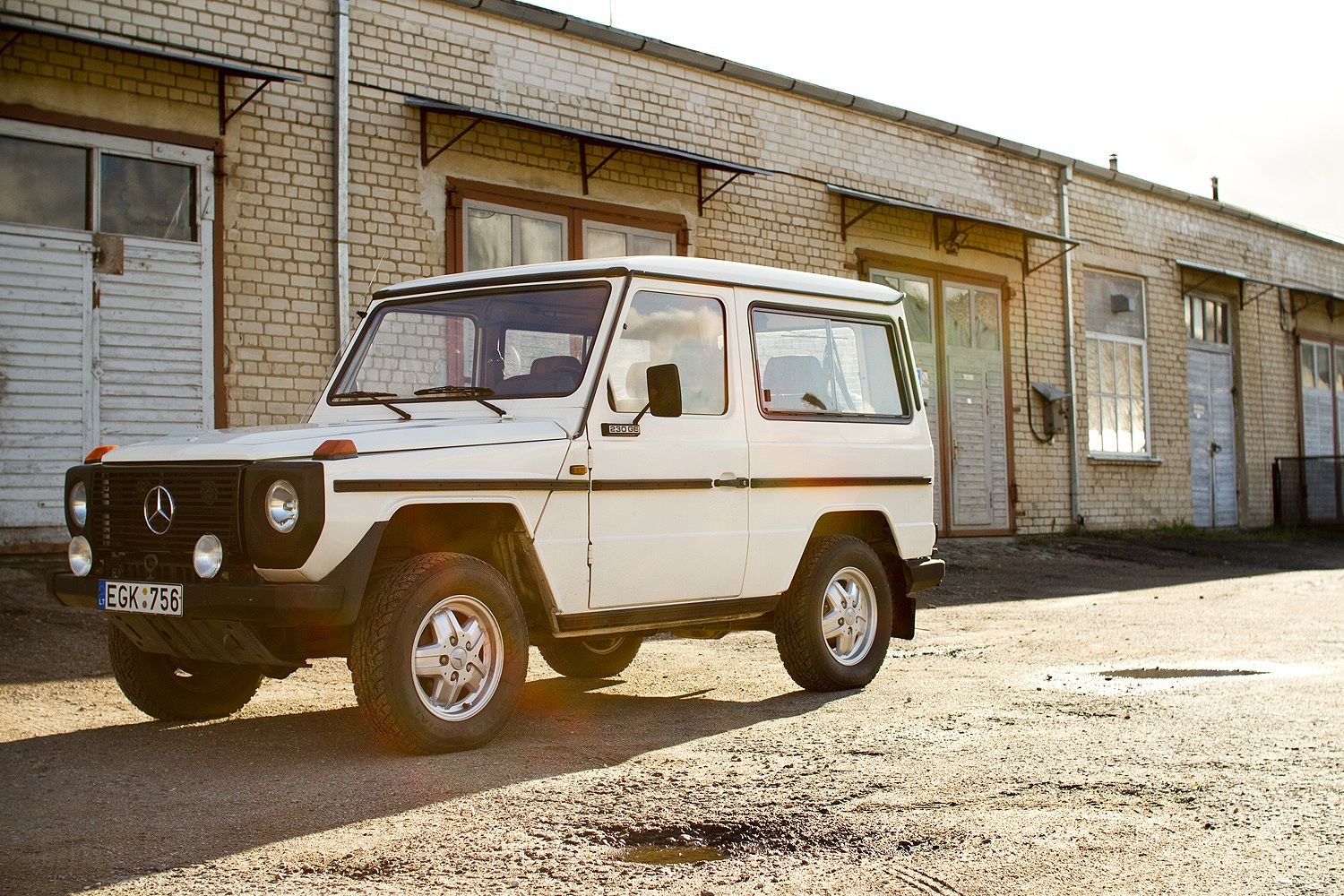 Mercedes benz 280 ge swb w460 1979 01 1990 pictures to pin - Mercedes G Wagen 230ge