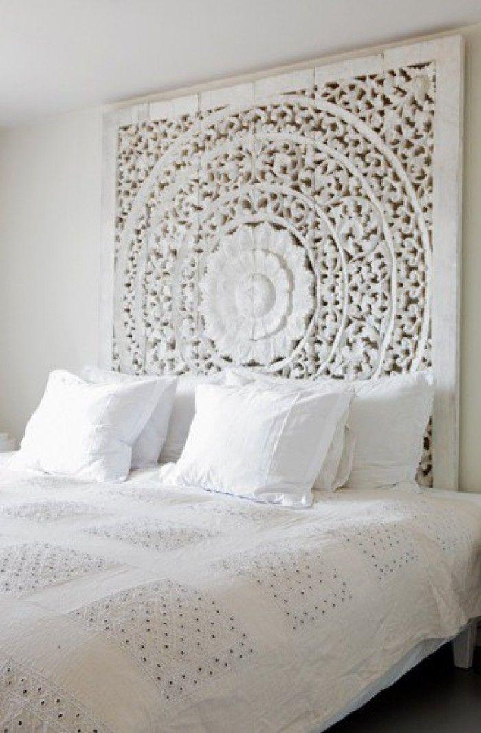 Bed Achterwand Bed Bedroom Door Bydjess Marokkaanse Woonkamers Slaapkamerideeen Woonkamer Decoratie