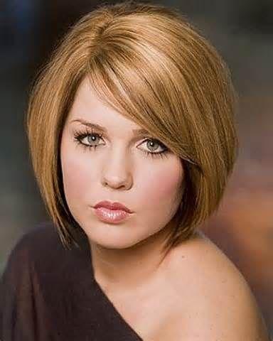 medium haircuts for round faces  6  medium length