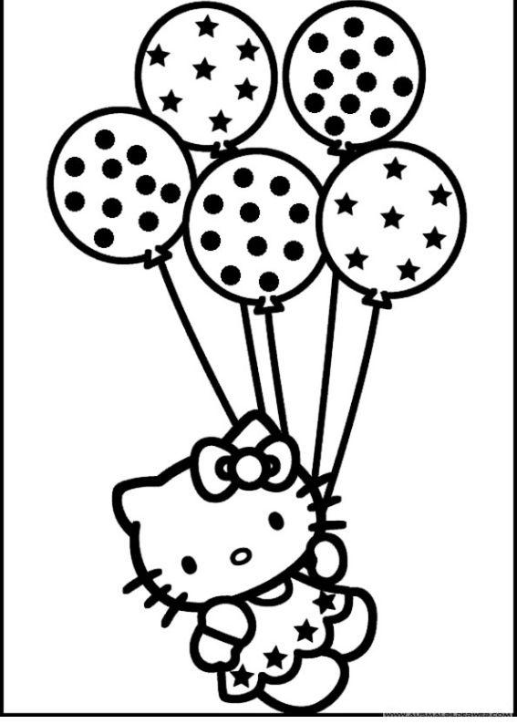 Ausmalbilder Hello Kitty_22.jpg | Ausmalbilder Hello Kitty | Pinterest