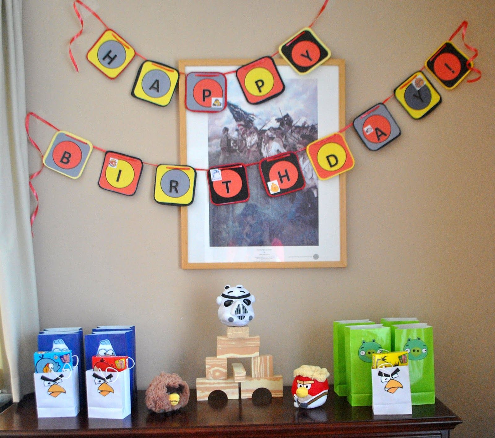 Boy Oh Boy Oh Boy Crafts Angry Bird Star Wars Birthday