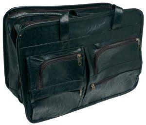 Roadpro Seb 001bk 17 Quot X 12 Quot Black Leather Like Soft Sided