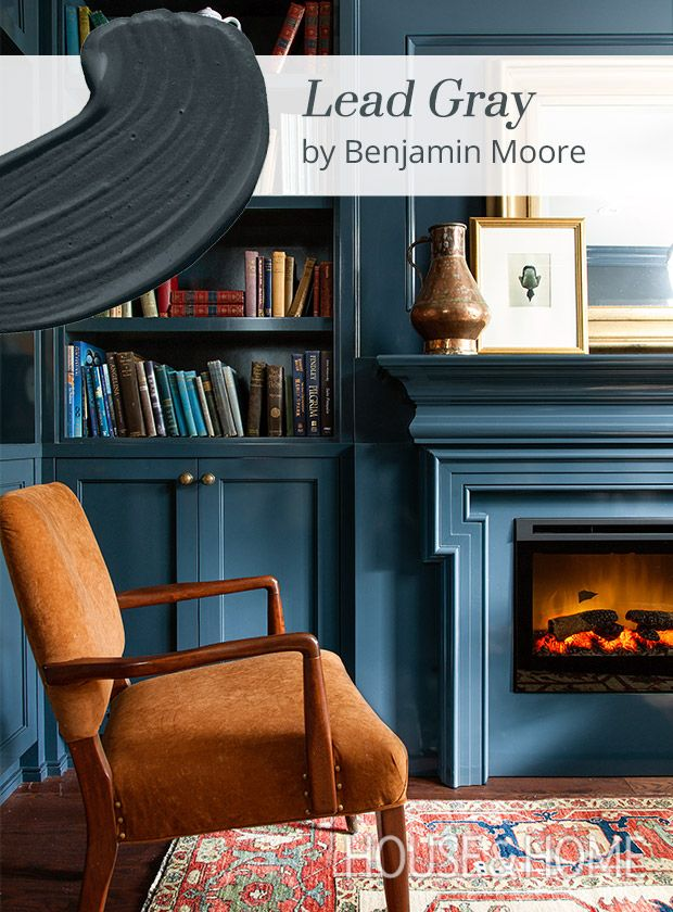Paint Color Pick: Lead Gray By Benjamin Moore