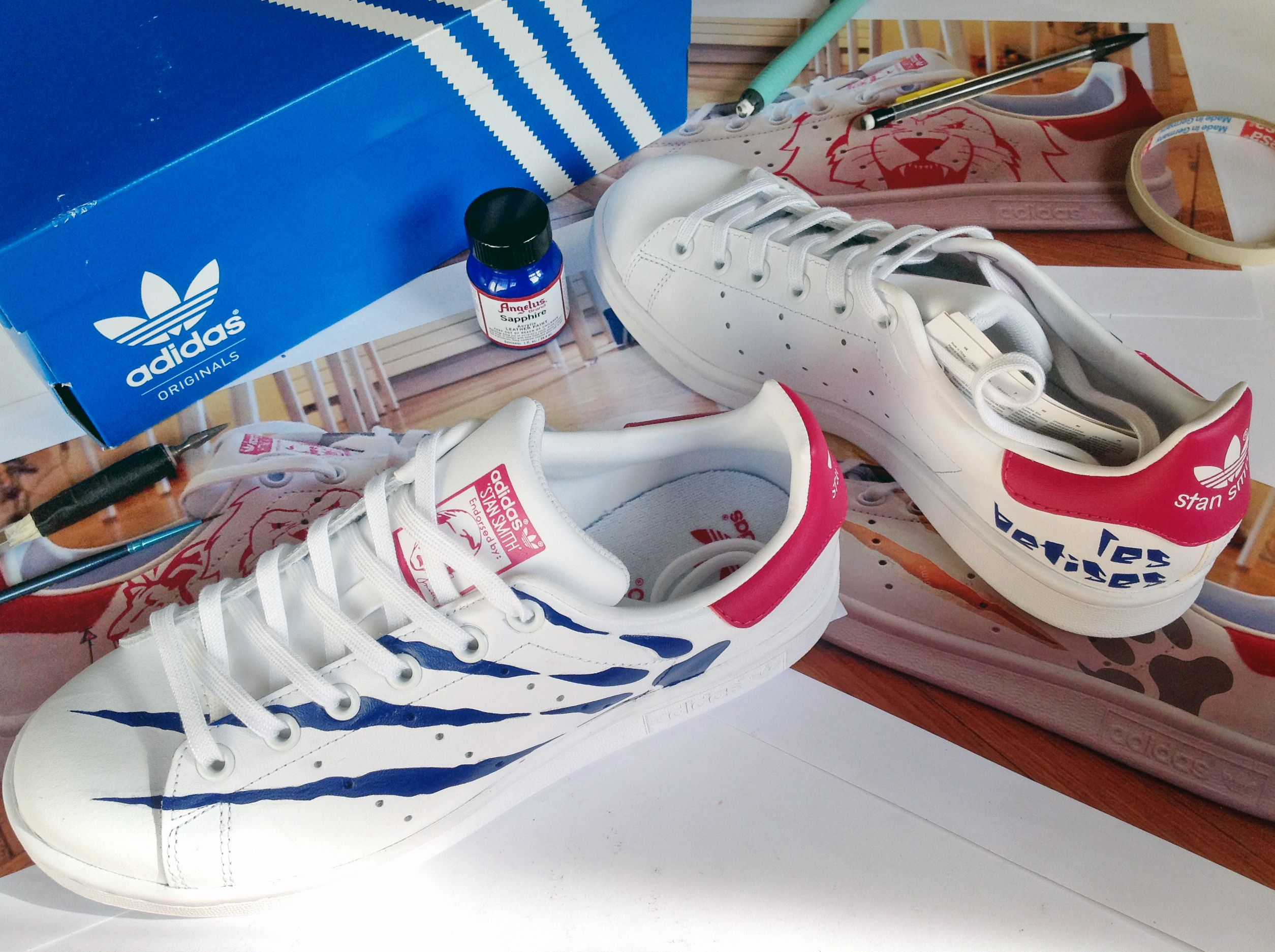 LbphandmadeuniquecreationStan Customstansmith Customstansmith En 2019 By zSpLGMqUV