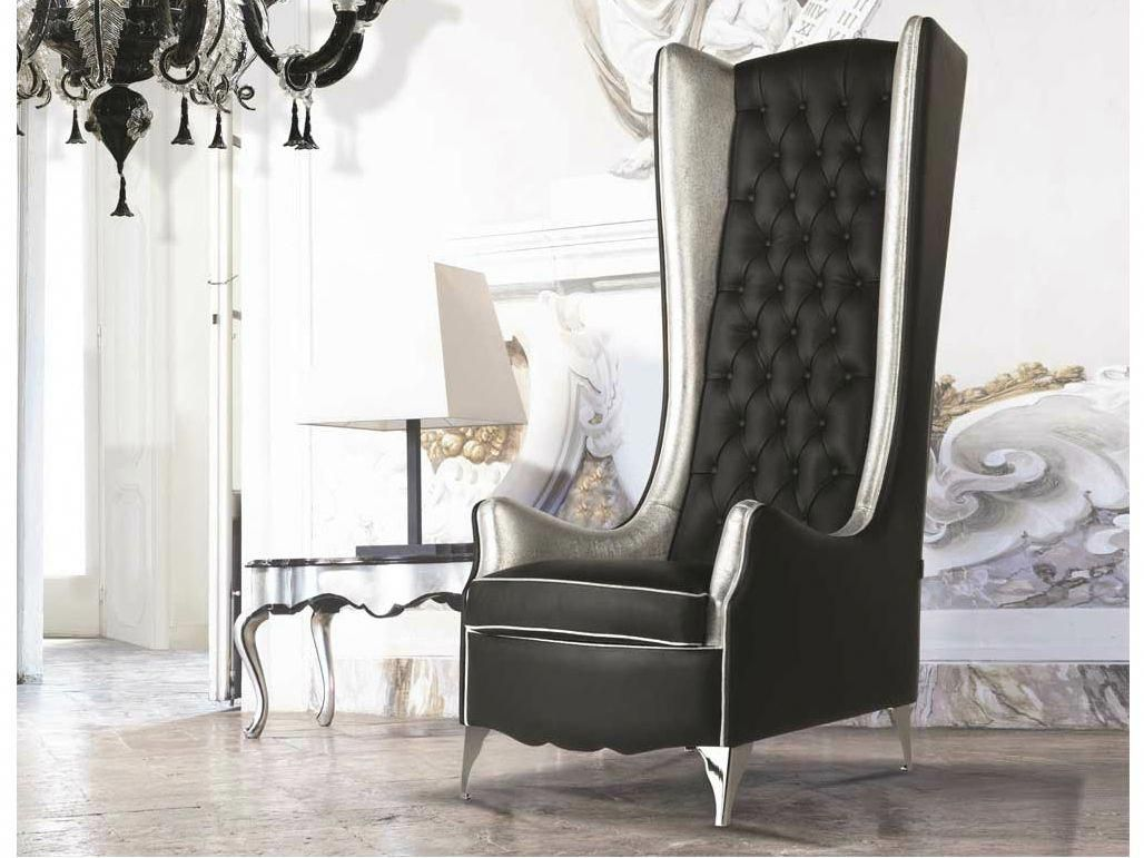 High Back Tufted Sofa Tufted High Back Leather Armchair With