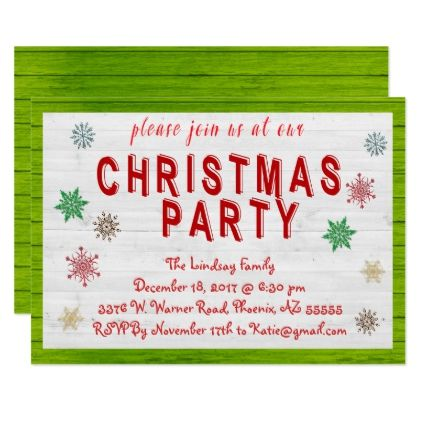 Christmas Party Invitation Zazzle Com Christmas Party