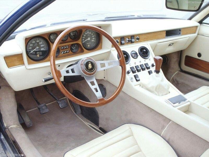 Lamborghini Espada Vintage Car Interiors Lamborghini Jarama