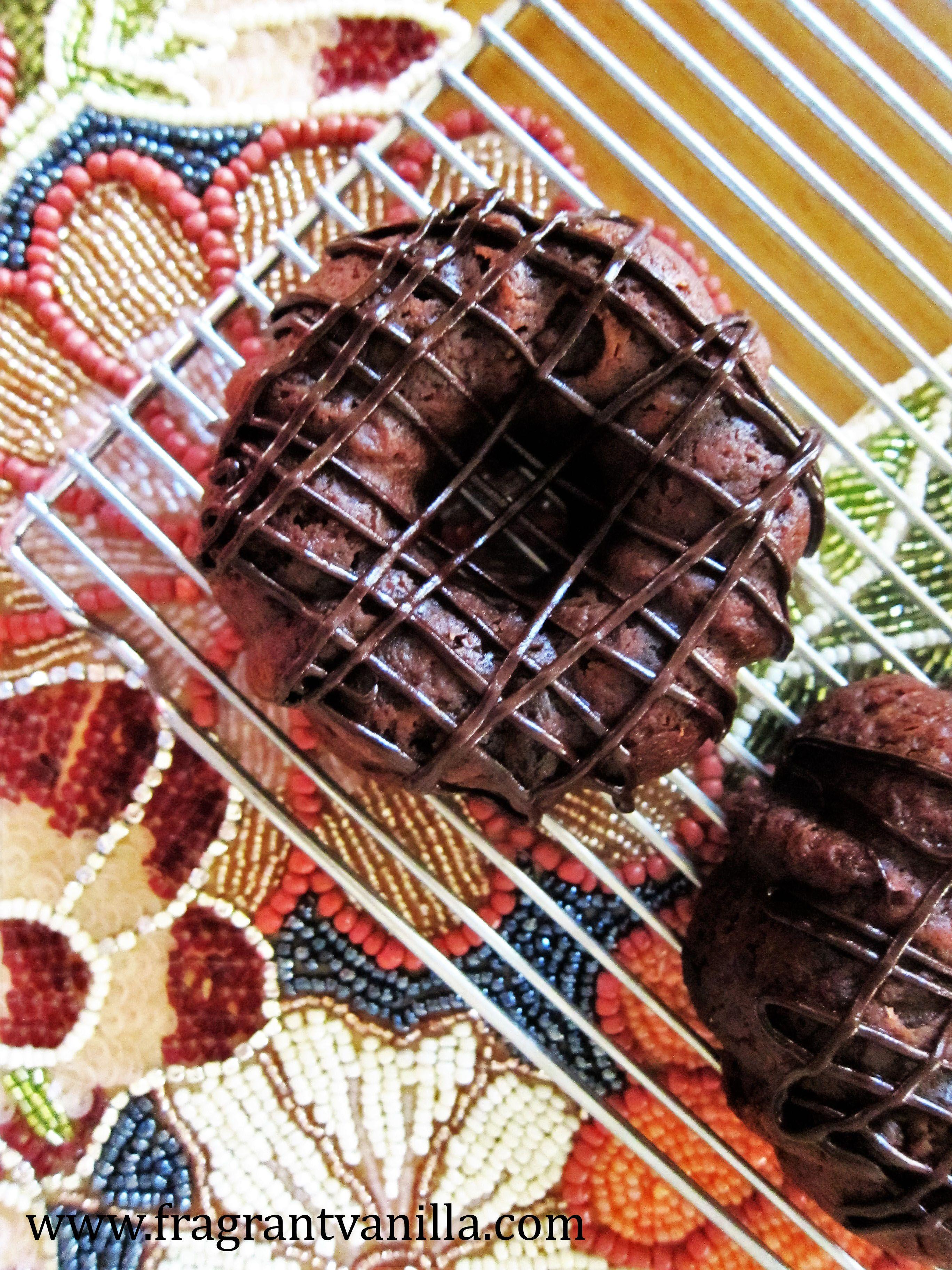 Mini Vegan Dark Chocolate Fig Cakes (With images) Vegan
