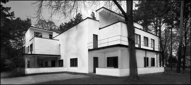 walter gropius meisterhaus dessau 1925 1926 architecture pinterest architektur. Black Bedroom Furniture Sets. Home Design Ideas