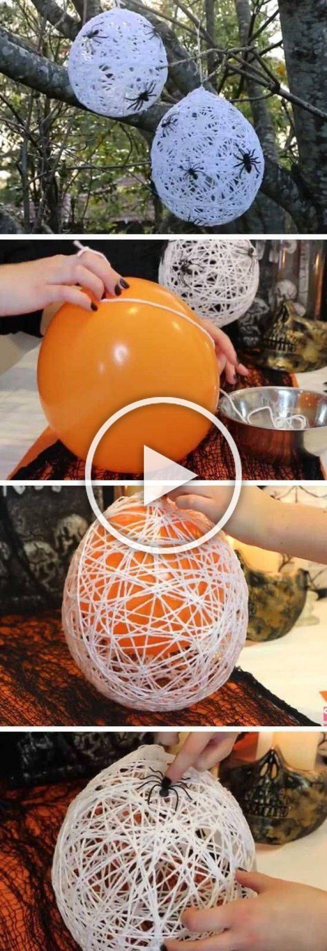 Halloween 10 idées déco faciles à faire pour Halloween