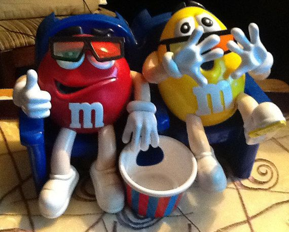 M&M's Candy Dispenser known as At the Movies by BuyfromGroovy