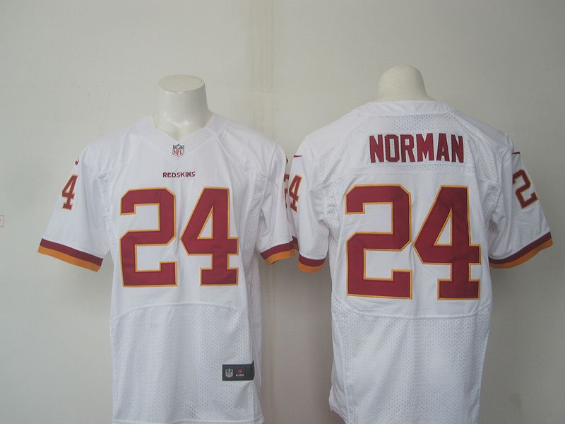 Wholesale Washington Redskins #24 Josh Norman Burgundy White Road NFL Nike  for sale