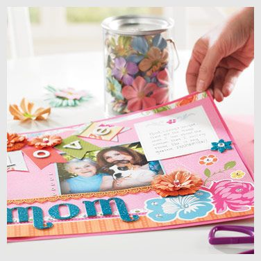 Darling Mothers Day Page By Michaels Crafts Paper Crafting