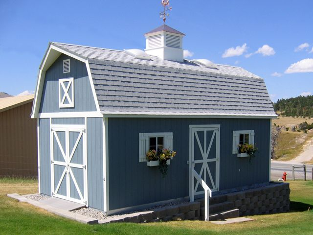 Premier PRO Tall Barn (12x24) By Tuff Shed. Perfect Little Country Barn.