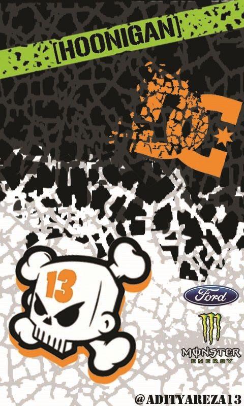 Ken Block Wallpapers 017 Jpg 480 800ピクセル Desain Stiker Gambar