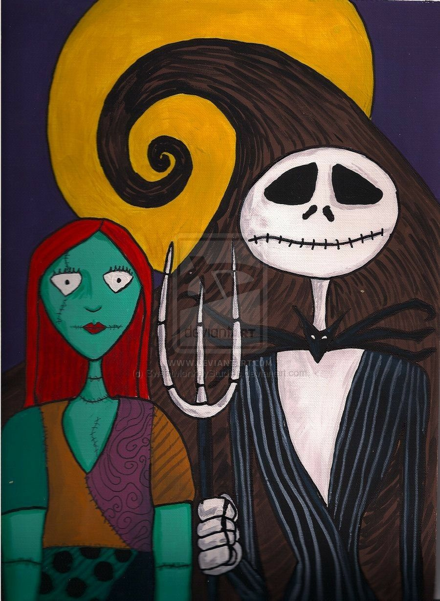 Nightmare Before Christmas Artwork