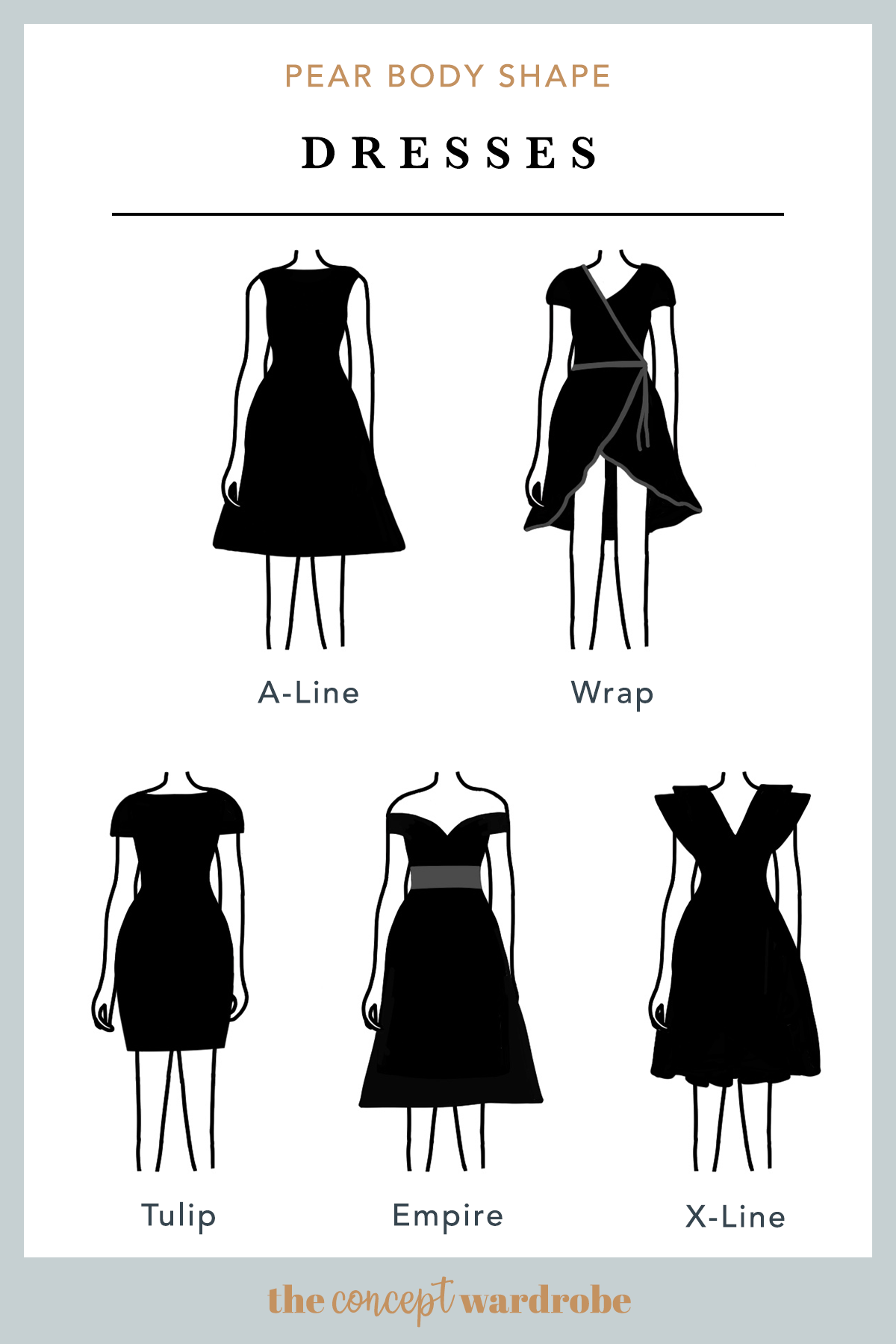 PEAR BODY SHAPE  Dresses  Pear body, Pear body shape, Pear body