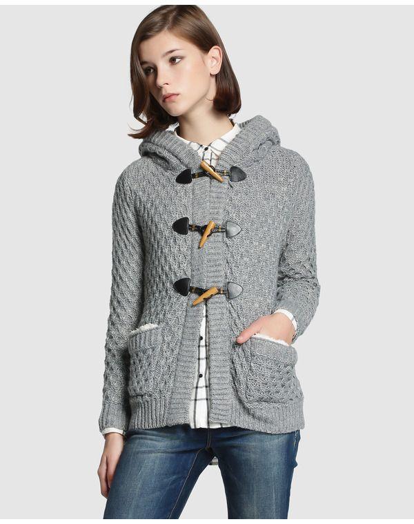 Patrones chaquetas de punto mujer