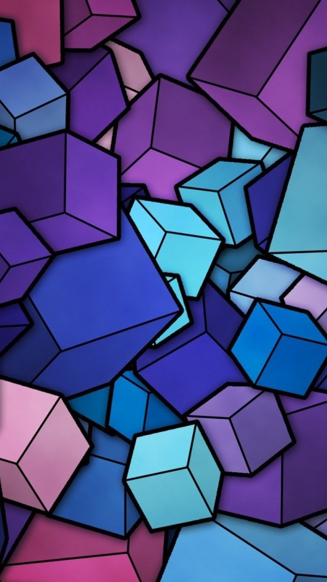 Wallpaper iphone violet - 60 Clever Abstract Iphone Wallpapers For Art Lovers