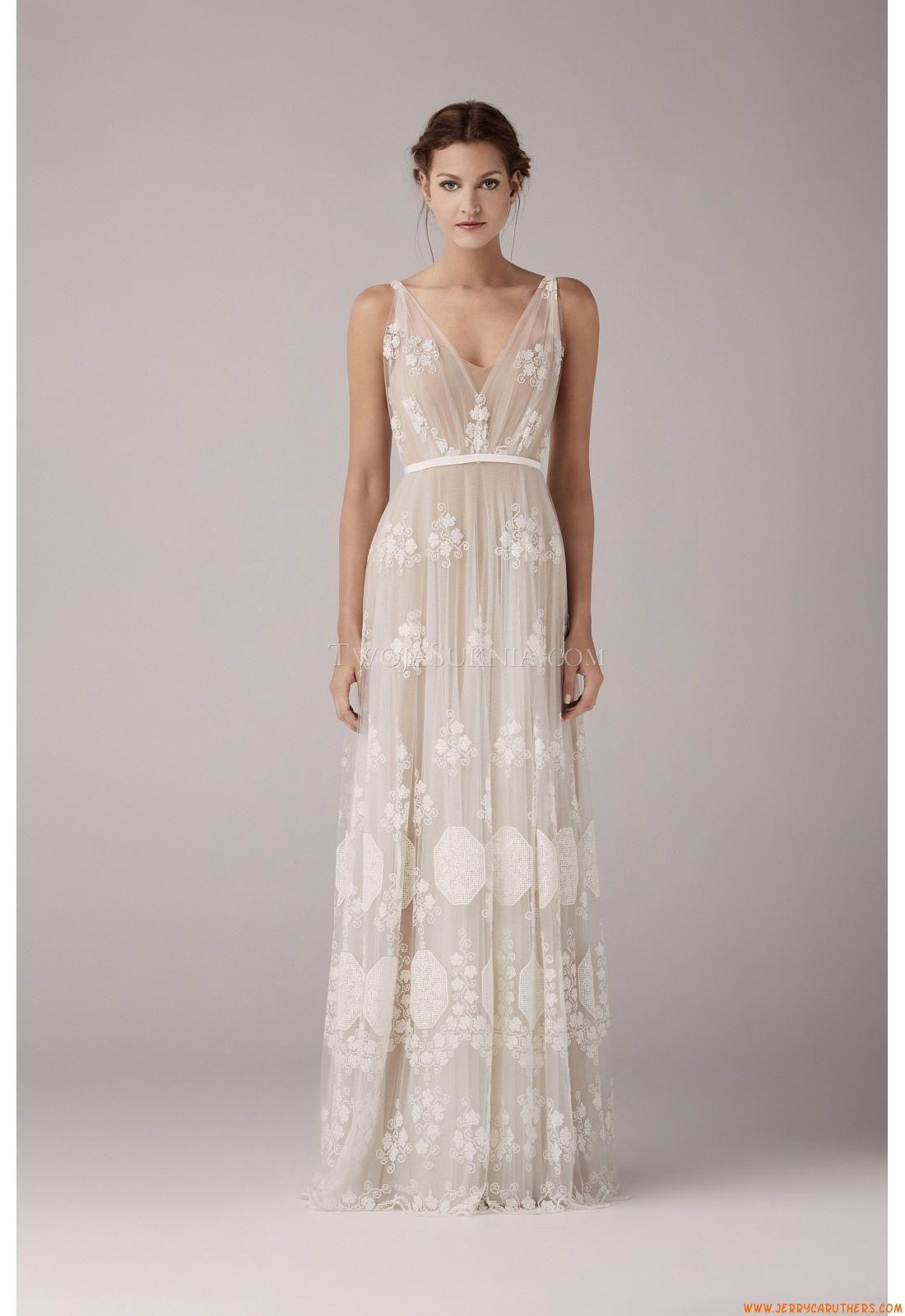 Trouwjurken Anna Kara May Nude 2014 | vintage dresses for wedding ...