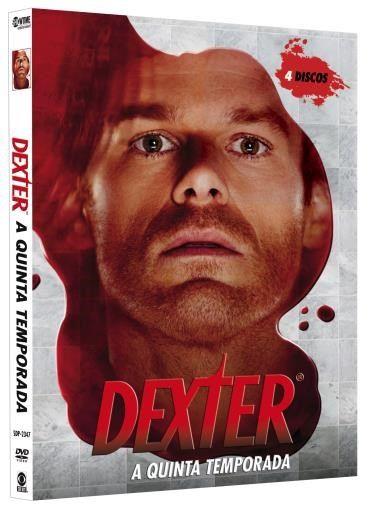 Dexter 5ª Temporada 4 Dvds Seriados De Tv Cartazes De