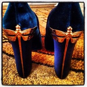 Dragonfly heels