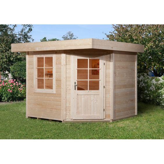 Holz Gartenhaus San Remo Natur Kaufen Bei Obi Design Gartenhaus Gartenhaus Haus