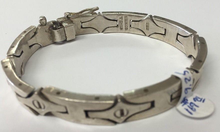 Men S Bracelet Silver 925 Made In Mexico Signed Td 113 Mt113mexico Mensbracelet Sterlingsilver Mens
