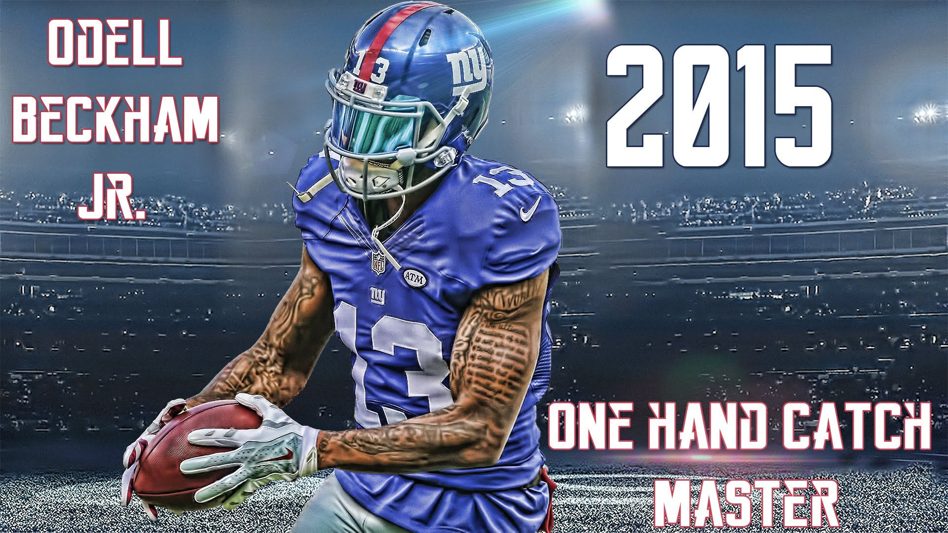 new arrival d0dac d4052 New York Giants #13 Odell Beckham Jr   Go Big Blue   Nfl new ...