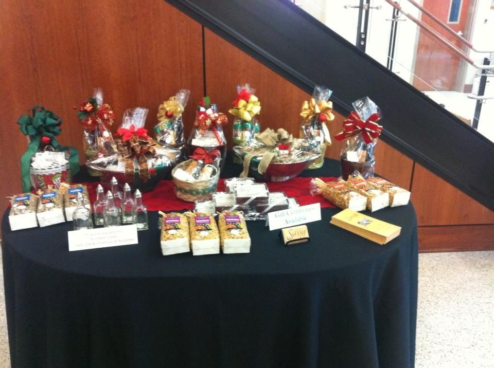 Display of Gift Items at The Christmas Open House