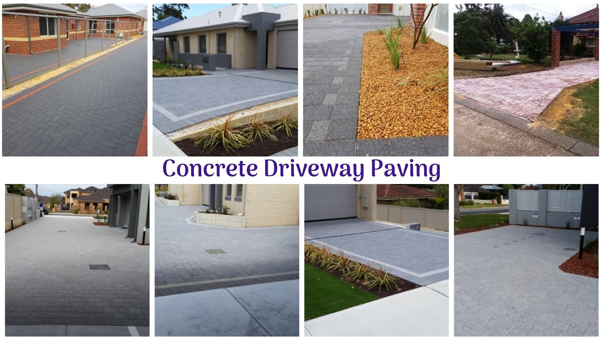 A concrete driveway can easily tolerate thousand pounds of