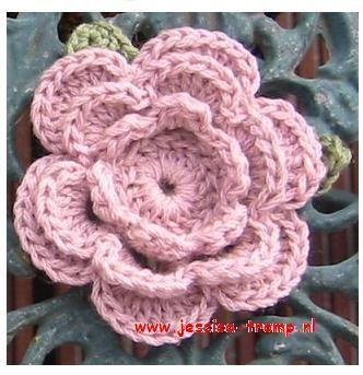 Bloemen Haken Gratis Haakpatronen Free Crochet Flower Patterns