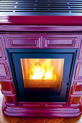 Sergio Leoni   Marlene P/N and Marlene P/I: pellet stove that can heat also the water of radiators