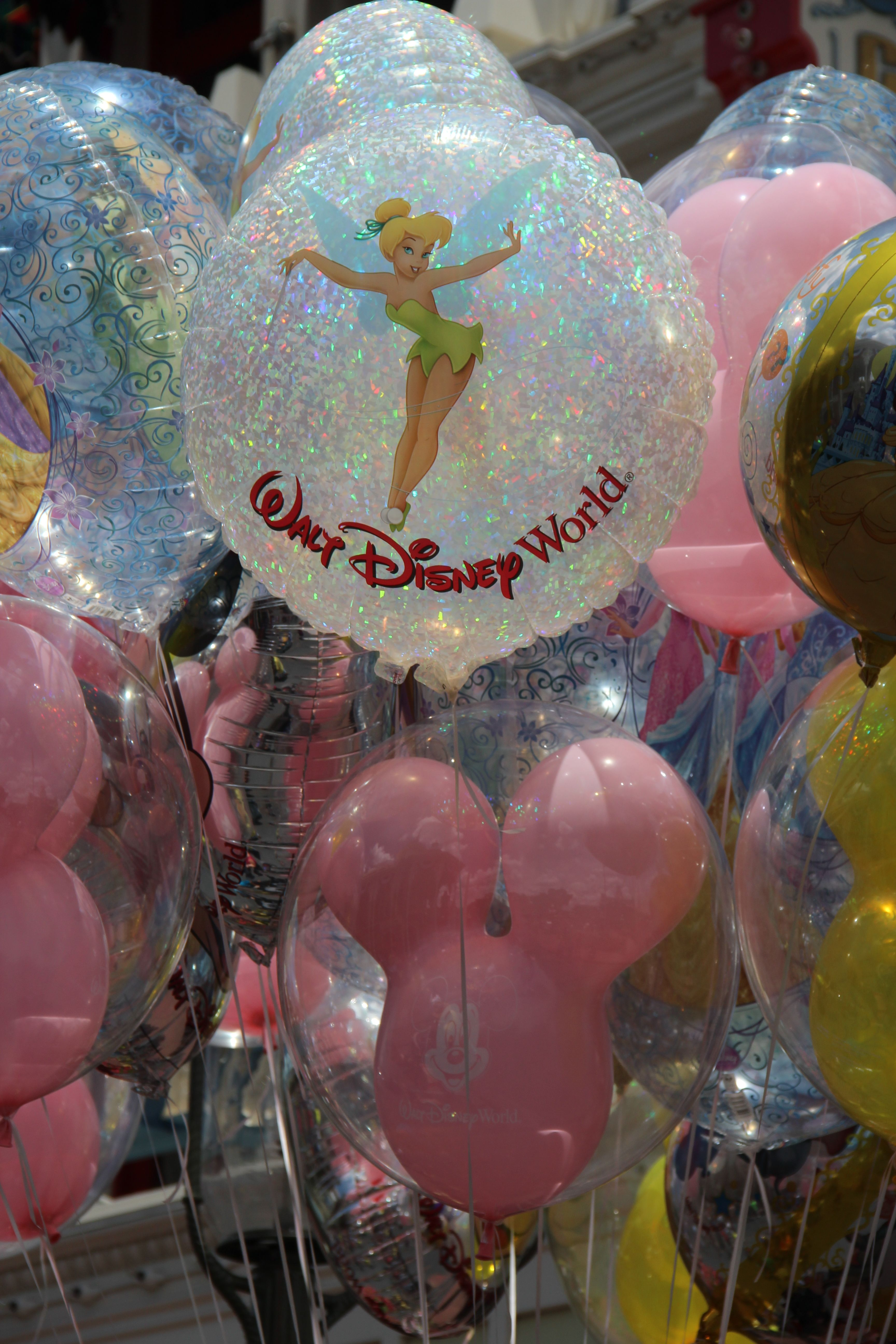 Balloons Walt Disney World by Jenniffer Thomas