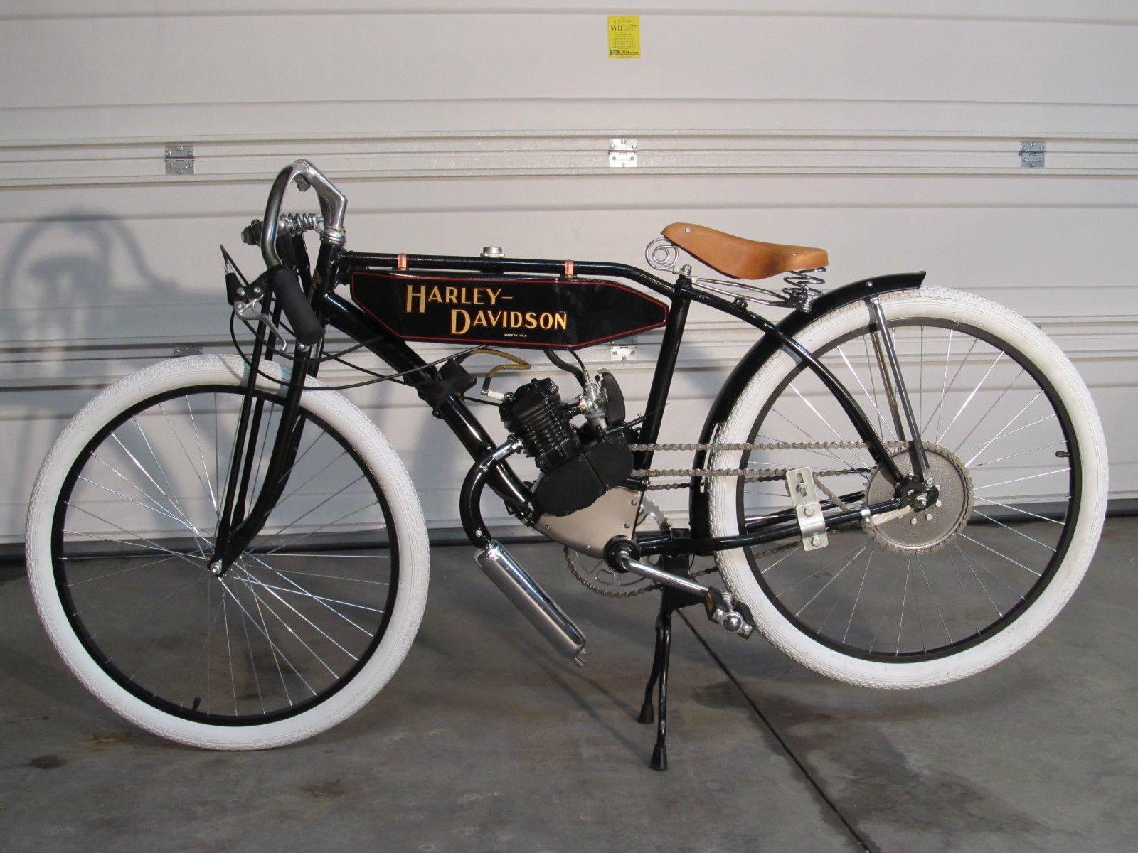 Harley Davidson Boardtrack Racer Replica Motorised Bike Vintage Bikes Motorcycles Motorized Bicycle