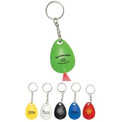 #76 Tear Drop Mini Light Key Tag, as low as $0.59 at 500 or more plus set up and freight charges