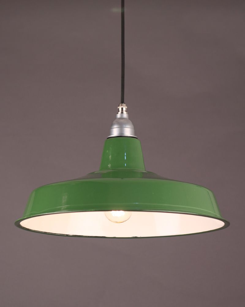 Green Enamel Pendant Light In 2019