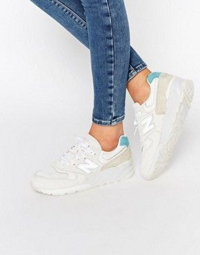5564af873d291d New Balance 999 Beige & Blue Trainers | Shoes | Blue trainers, New ...