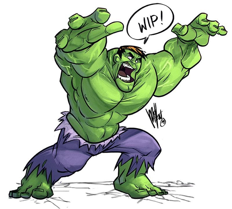 #Hulk #Fan #Art. (Hulk!) By: Mel Milton. (THE  5  STÅR  ÅWARD  OF:  AW YEAH, IT'S MAJOR ÅWESOMENESS!!!™)