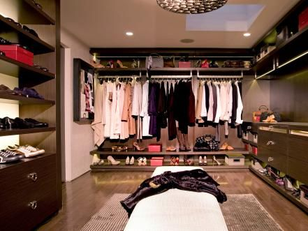 Glamorous Walk In Closets Are No Longer Just For The Ladies. Check Out These