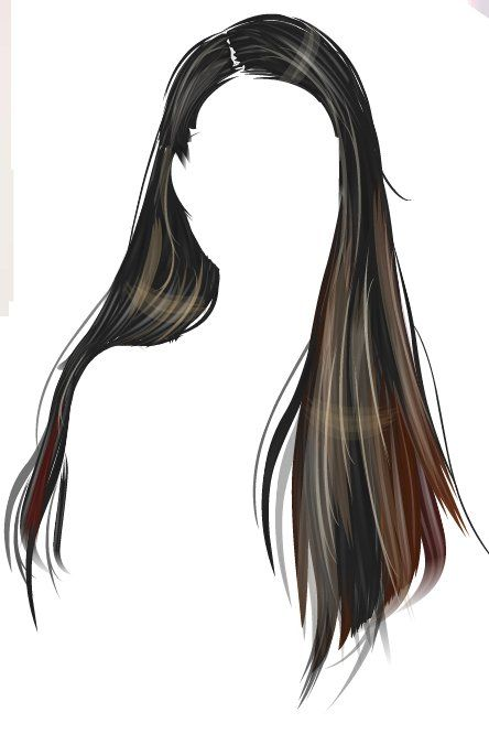 Created By Candyalize Hair Illustration Manga Hair How To