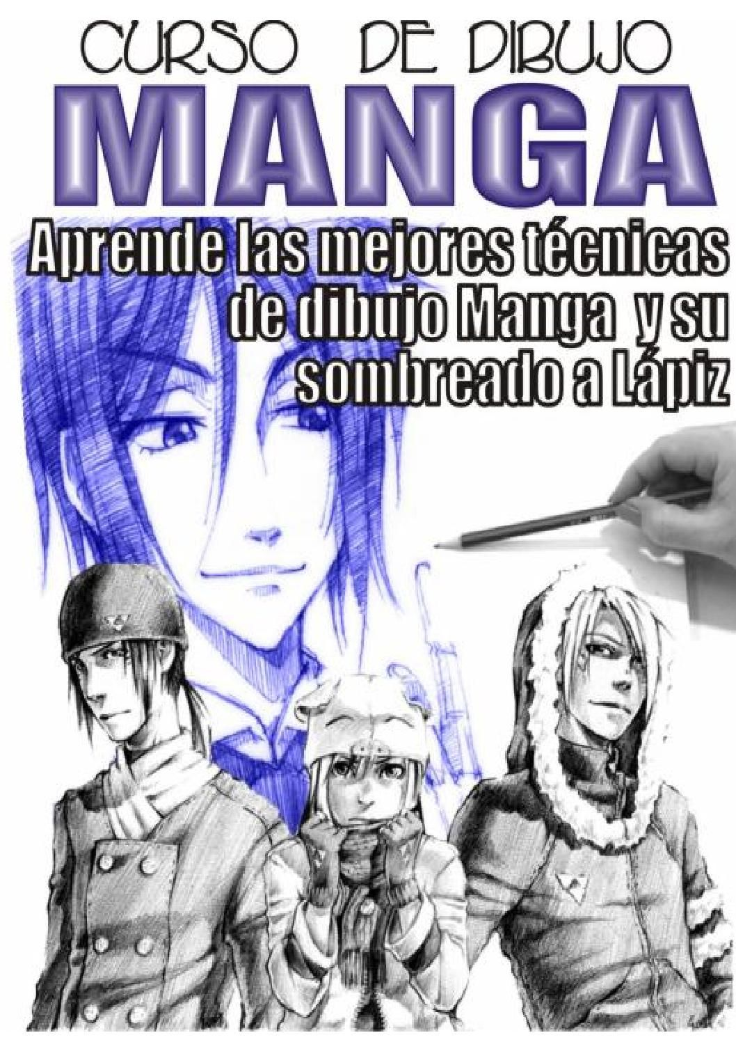 Curso De Dibujo Manga Manga Tutorial Manga Drawing Career Books