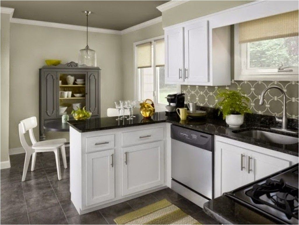 Gray Kitchen Cabinets Color Ideas  Grey And White Kitchen Endearing Kitchens With Grey Cabinets 2018