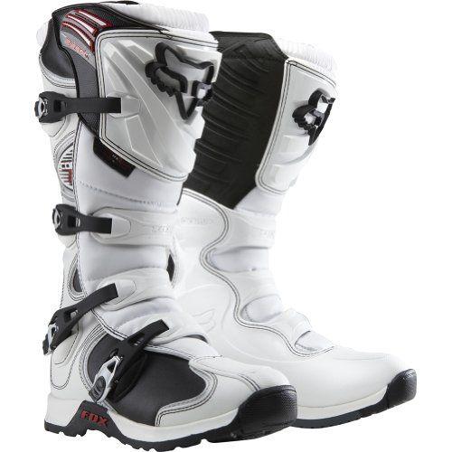 Fox Racing Comp 5 Men S Motocross Motorcycle Boots White Size 11 Fox Racing Http Www Amazon Com Dp B005hbtglq Ref Cm Racing Boots Motorcycle Boots Boots