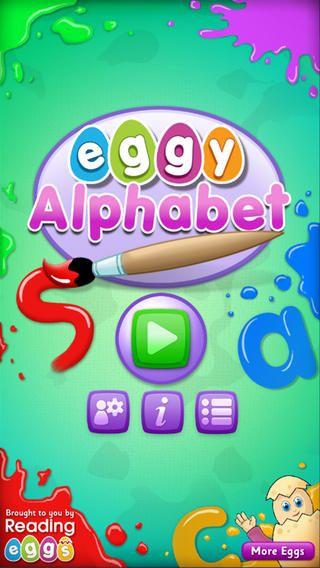 Free Reading Eggs App Eggy Alphabet for iPhone/iPad