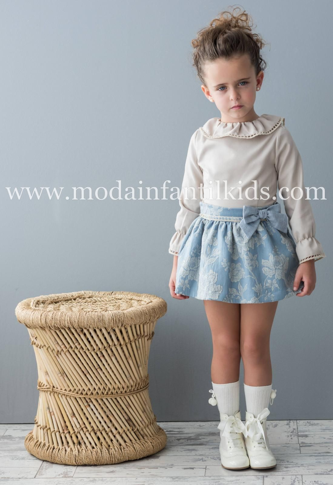 e940c3463d Conjunto niña Falda+Camisa Dolce Petit 2260 2-3