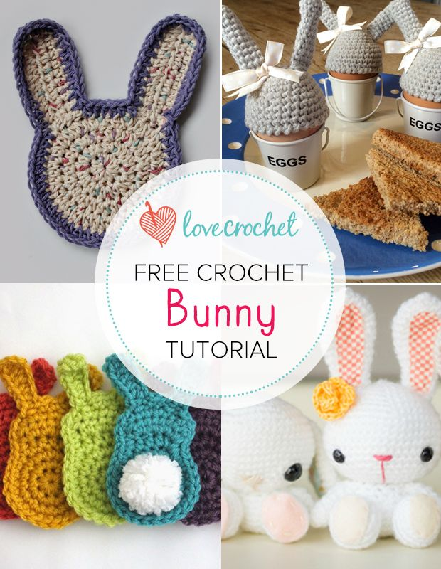 Pinteresting Projects: free bunny crochet patterns (LoveCrochet Blog ...