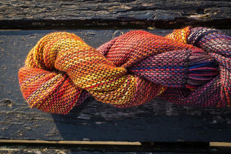 Palindrom Weaving ©Shireen Nadir 2014 | malabrigo Silkpaca