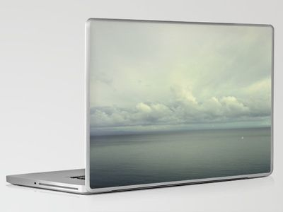 """Sea and Sky"" by Lena Weisbek  Laptop & iPad Skin $30.00"