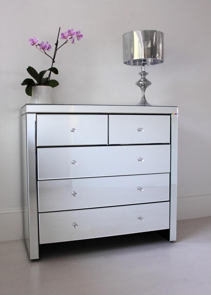 Large Mirrored Chest of Drawers | Home Decor Inspirations ...